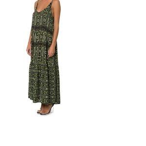 One Teaspoon NWT Komodo Dragon Print Maxi Dress M
